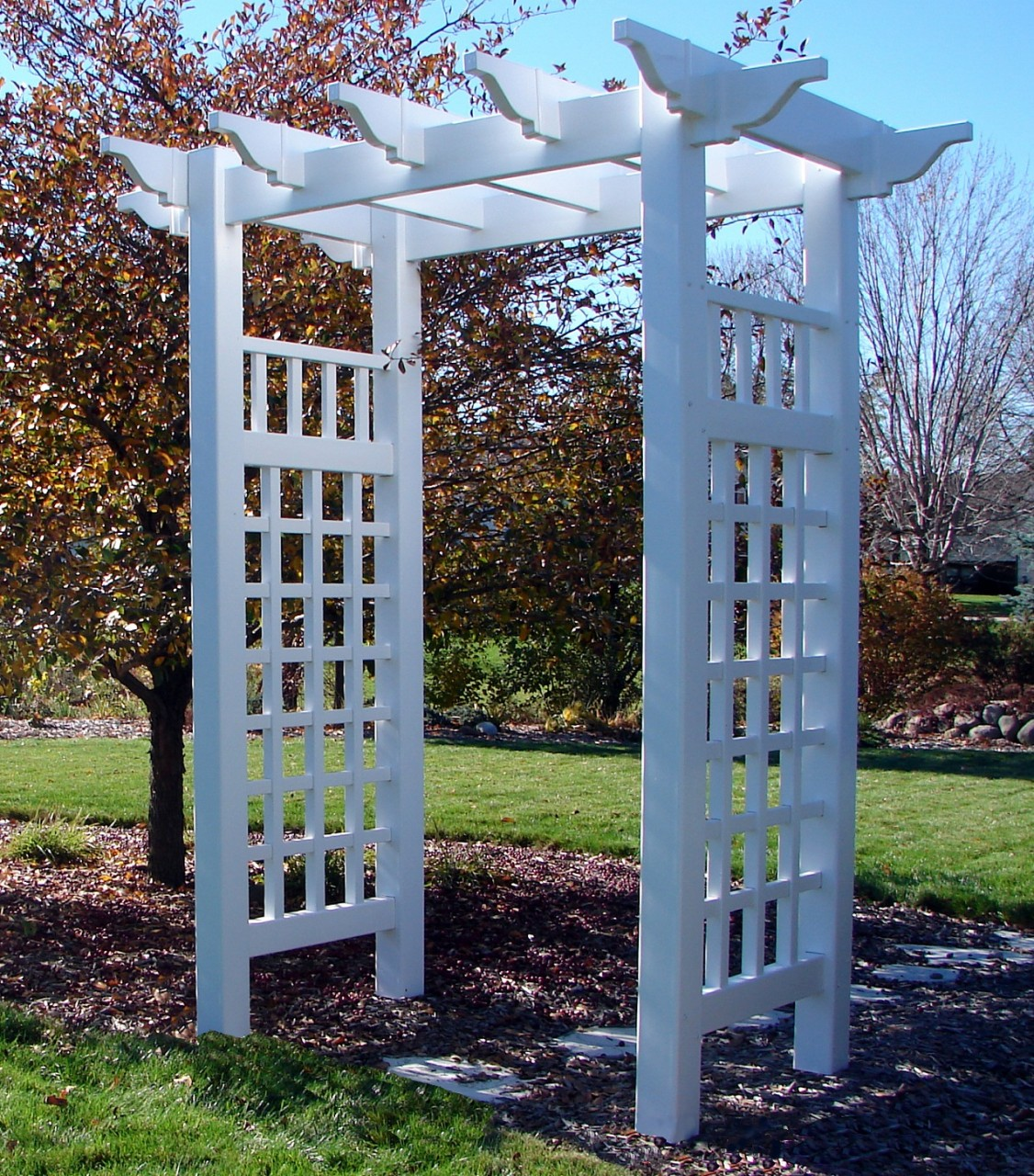 PVC Arbours Pergolas And Garden Products