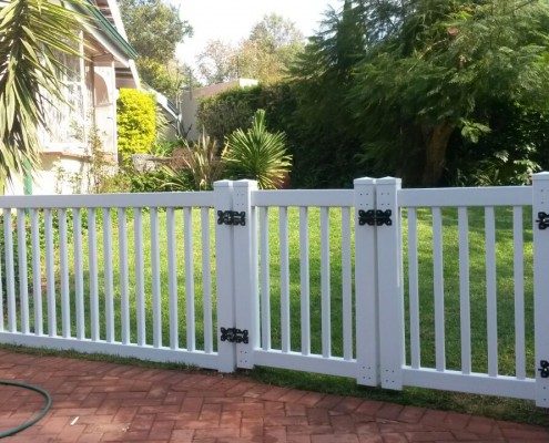 PVC Picket Gate