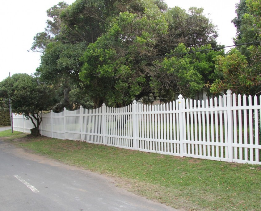 PVC Palisade Fences