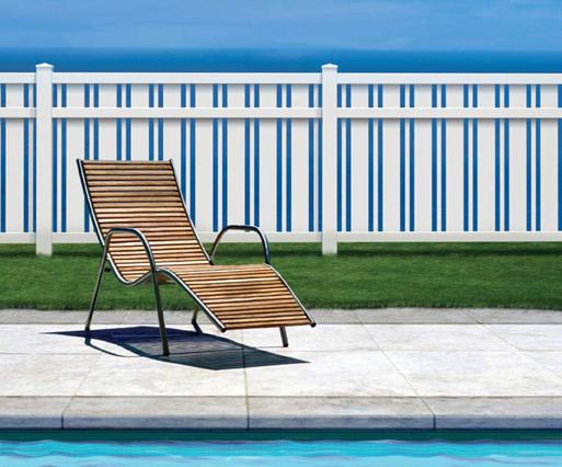 Alternate Design PVC Pool Fence