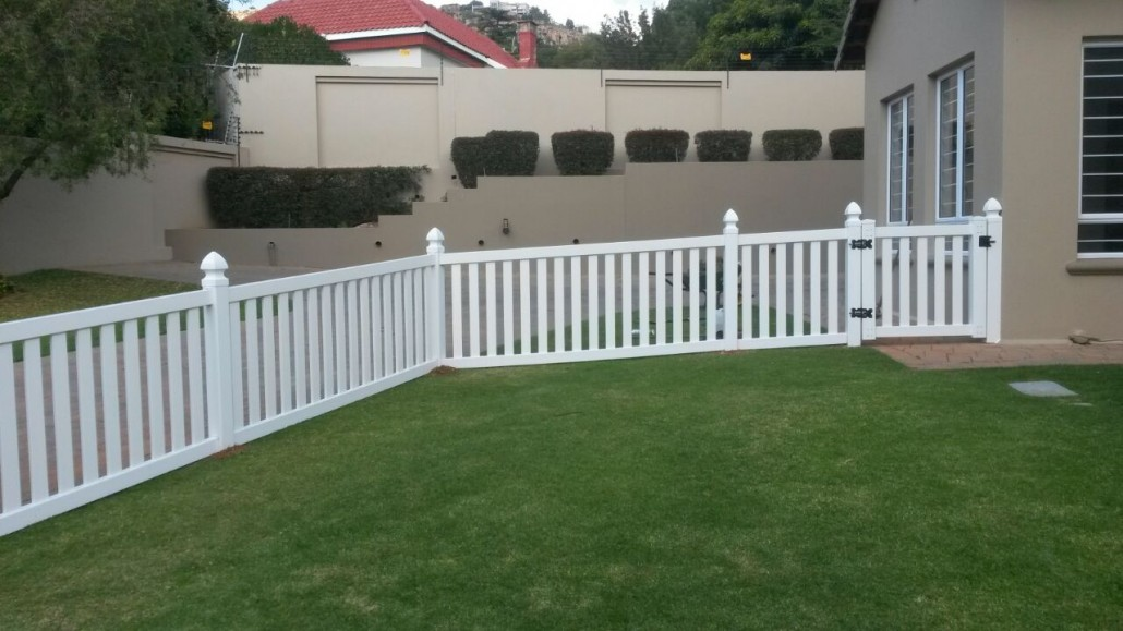 PVC White Picket Fence By EnduraTech