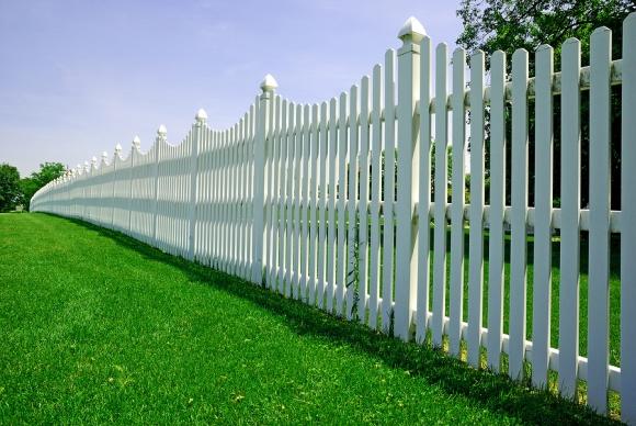 PVC Palisade Fencing