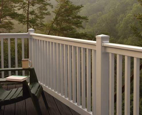 PVC Balustrades and Railings