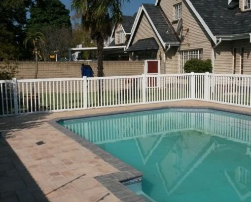 uPVC Pool Fence