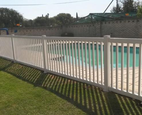 PVC Pool Fencing