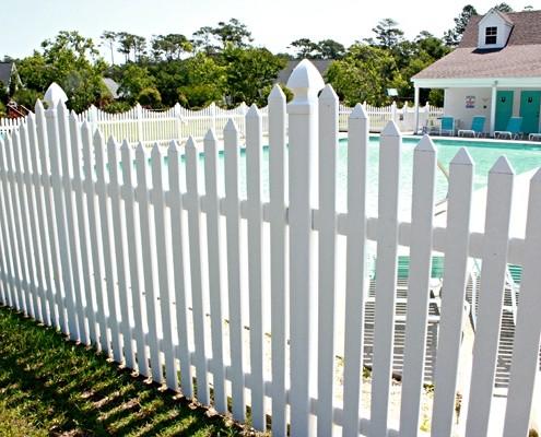 Custom PVC Palisade Fencing