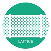 PVC, uPVC Lattice Screens